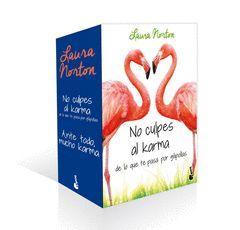 PACK NO CULPES AL KARMA DE LO QUE TE PASA POR GILIPOLLAS/ANTE TODO, MUCHO KARMA.ESTUCHE-BOOKET