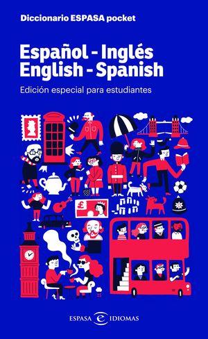 DICCIONARIO ESPASA POCKET. ESPAÑOL - INGLES. ENGLISH - SPANISH
