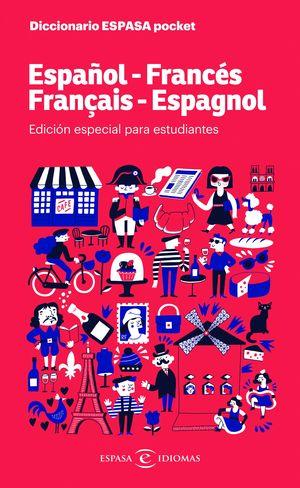 DICCIONARIO ESPASA POCKET. ESPAÑOL - FRANCES. FRANÇAIS - ESPAGNOL