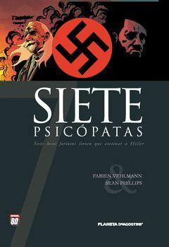 SIETE PSICOPATAS.PLANETA DEAGOSTINI-COMICS-G-CARTONE