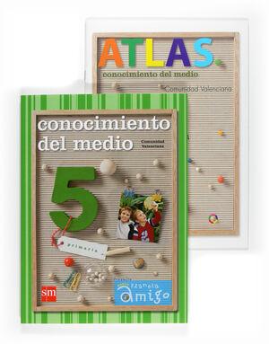 CONOC.MEDIO-5EP.SM-NUEVO PLANETA AMIGO-ED09.CASTELLANO.COMUNIDAD VALENCIANA