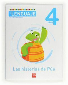 APRENDO A PENSAR CON EL LENGUAJE, LAS HISTORIAS DE PÚA, EDUCACIÓN INFANTIL, 4 AÑ