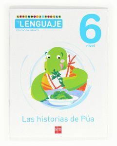 APRENDO A PENSAR CON EL LENGUAJE, LAS HISTORIAS DE PÚA, EDUCACIÓN INFANTIL, 6 AÑ