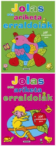 JOLAS ETA ARIKETA ERRALDOIAK (4 TÍTULOS)