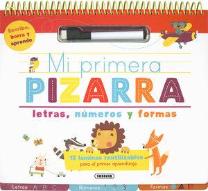 MI PRIMERA PIZARRA DE LETRAS, NÚMEROS Y FORMAS