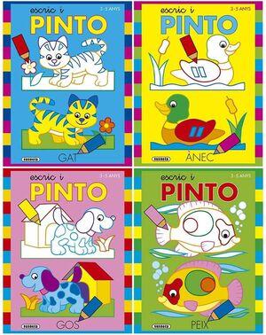ESCRIC I PINTO 3-5 ANYS (4 TITOLS)
