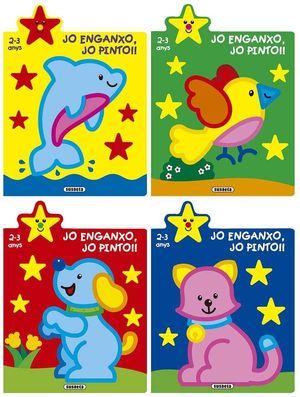 JO ENGANXO, JO PINTO!! 2-3 ANYS (4 TITOLS)
