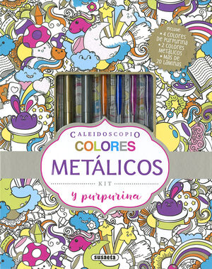 COLORES METALICOS Y PURPURINA