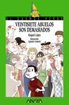 VEINTISIETE ABUELOS SON DEMASIADOS.DUENDE VERDE-197.ANAYA-RUST