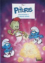 LOS PITUFOS-035.LOS PITUFOS Y EL MEDIO GENIO.NORMA