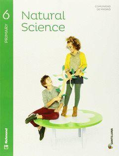 6PRI NATURAL SCIENCE SB+CD MAD ED15