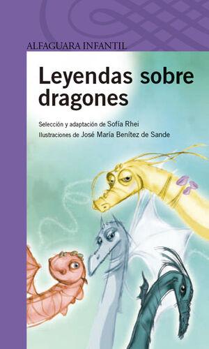 LEYENDAS SOBRE DRAGONES.ALFAGUARA LILA-INF-RUST