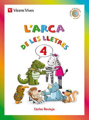 L'ARCA DE LES LLETRES 4 (LLETRA LLIGADA)