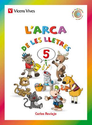 L'ARCA DE LES LLETRES 5 (LLETRA LLIGADA)