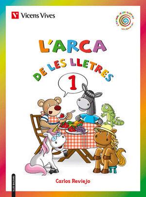 L'ARCA DE LES LLETRES 1 (E,O,A I,U) BAL