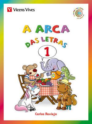 A ARCA DAS LETRAS 1 (E, O, A, I, U)