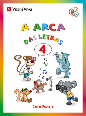 A ARCA DAS LETRAS 4 (C,Q,Z,CH,R(RR))