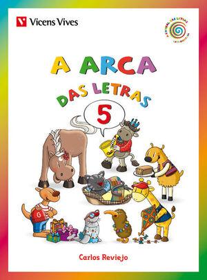 A ARCA DAS LETRAS 5 (F,G,(GU),LL,...)