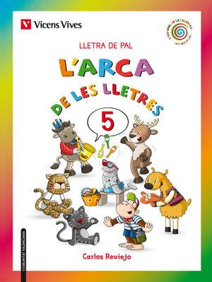 L'ARCA DE LES LLETRES 5 PAL VALENCIA