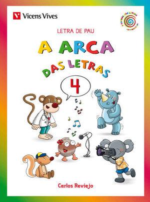 A ARCA DAS LETRAS 4 PAU GALICIA