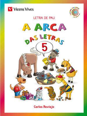 A ARCA DAS LETRAS 5 PAU GALICIA