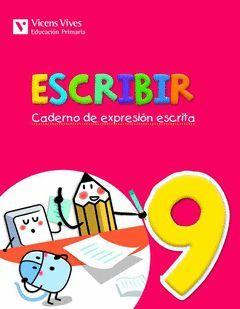 ESCRIBIR 9. CADERNO DE EXPRESION ESCRITA