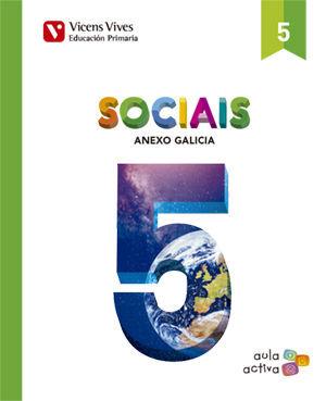 SOCIAIS 5 + ANEXO (AULA ACTIVA)