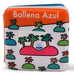 LIBRO DE BAÑO: BALLENA AZUL