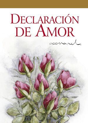 DECLARACION DE AMOR