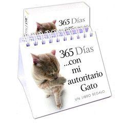 365 DÍAS CON MI AUTORITARIO GATO.HARLEQUIN-CAJA