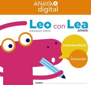 LEO CON LEA. INICIACIÓN. INFANTIL. ANAYA + DIGITAL.