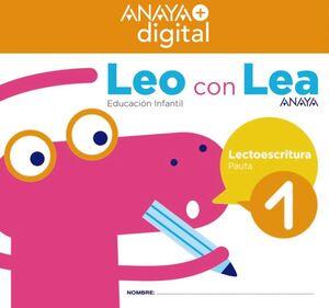 LEO CON LEA 1. INFANTIL.  ANAYA + DIGITAL.