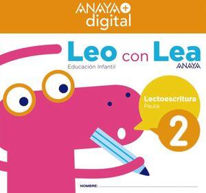 LEO CON LEA 2. INFANTIL.  ANAYA + DIGITAL.