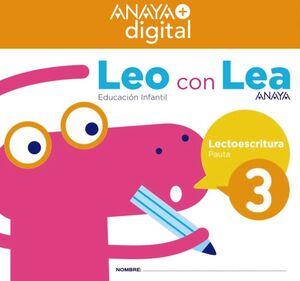 LEO CON LEA 3. INFANTIL.  ANAYA + DIGITAL.
