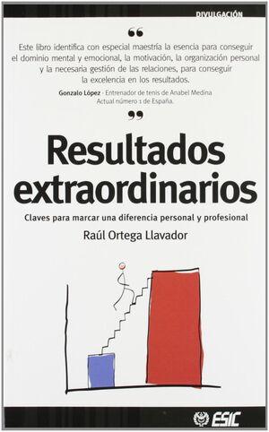 RESULTADOS EXTRAORDINARIOS.ESIC-RUST