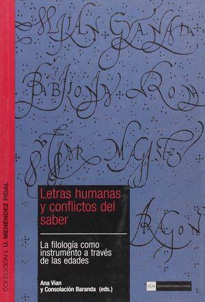 LETRAS HUMANAS Y CONFLICTOS DEL SABER