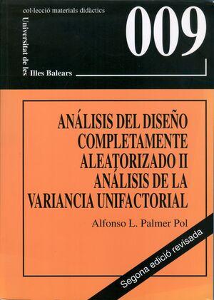 ANÁLISIS DEL DISEÑO COMPLETAMENTE ALEATORIZADO II