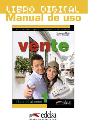 VENTE 1 A1/A2 LIBRO DIGITAL. MANUAL DE USO
