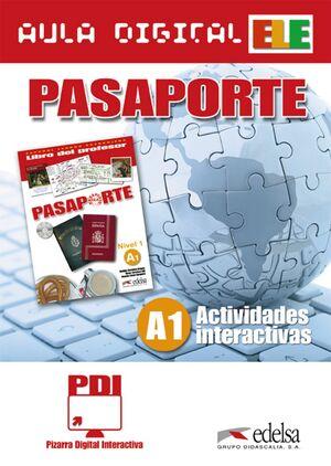 PASAPORTE. ACTIVIDADES INTERACTIVAS. A1. AULA DIGITAL