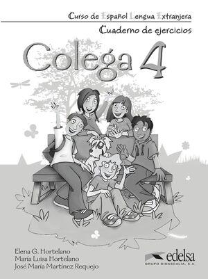 COLEGA 4. CUADERNO DE EJERCICIOS
