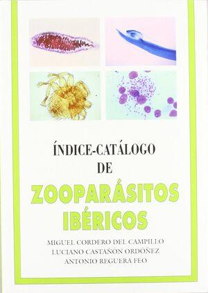 INDICE CATÁLOGO DE ZOOPARÁSITOS IBÉRICOS