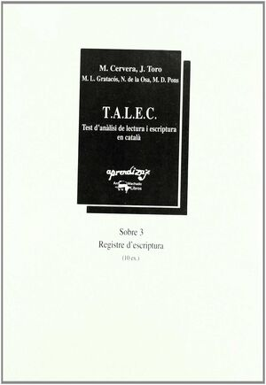 T.A.L.E.C.-MATERIAL SOBRE-3 CATALAN