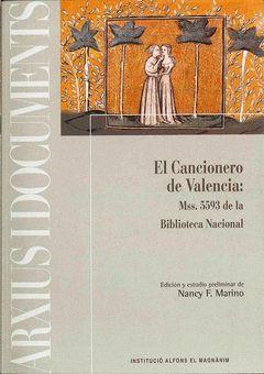 CANCIONERO DE VALENCIA,EL