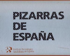 PIZARRAS DE ESPAÑA