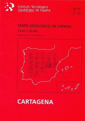 MAPA GEOLÓGICO  CARTAGENA