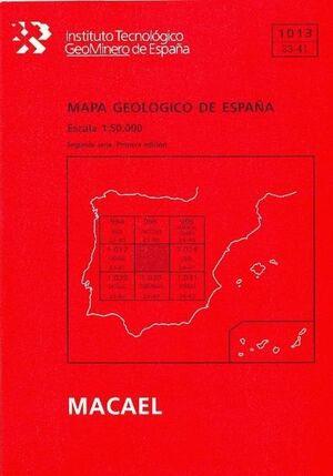 MAPA GEOLÓGICO  MACAEL