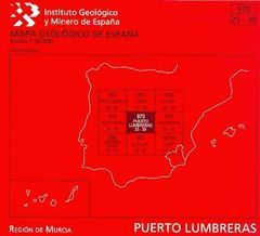 PUERTO LUMBRERAS, 975: MAPA GEOLÓGICO DE ESPAÑA ESCALA 1:50.000