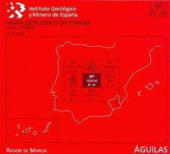 ÁGUILAS, 997: MAPA GEOLÓGICO DE ESPAÑA ESCALA 1:50.000