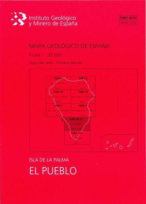 EL PUEBLO, 1085-III-IV (69/76-70/76) : MAPA GEOLÓGICO DE ESPAÑA ESCALA 1:25000 I