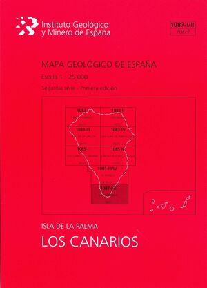 LOS CANARIOS, 1087-I/II (70/77) : MAPA GEOLÓGICO DE ESPAÑA ESCALA 1:25000 ISLA D